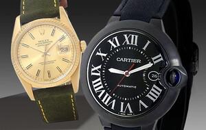 Rolex & Cartier