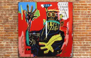Authentic Jean-Michel Basquiat