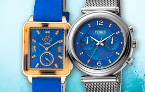 Fantastic Blue Timepieces