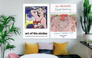 Hockney & Lichtenstein